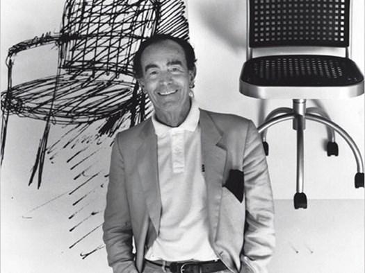 Vico Magistretti, ph. Michel Arnaud
