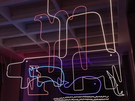 Nanda Vigo_Lo zoo di Enzo_2020- © Triennale Milano - foto Gianluca Di Ioia