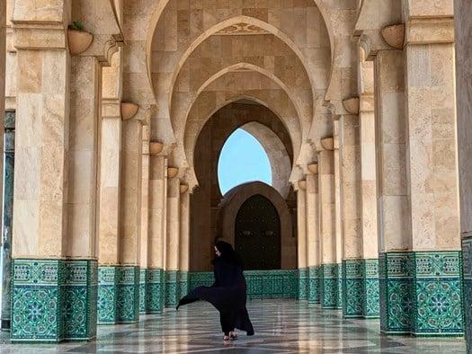 Mona Jumaan, 'Beauty of arches'