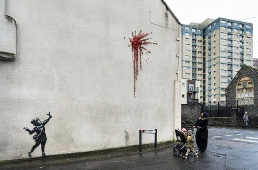 Photo Courtesy of © Banksy Official Website