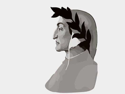 Dante Alighieri - un ritratto del filosofo e poeta italiano_ © ugchannel