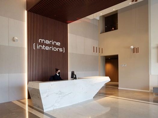 Quadrifoglio Group @ Marine Interiors Headquarters