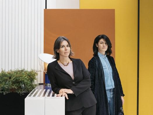 Le curatrici ed ideatrici di Edit Napoli Domitilla Dardi e Emilia Petruccelli_© Lea Anouchinsky