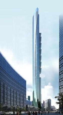 Una torre residenziale di 516 m per Dubai Marina