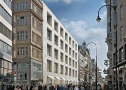 Vienna: a Chipperfield lo showroom Peek & Cloppenburg