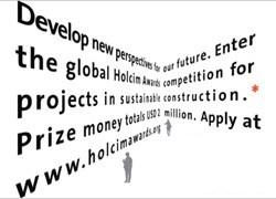 Al via il secondo ciclo di Holcim Awards