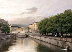 Berlino: svelato progetto per la James Simon Gallery