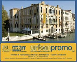 URBANPROMO 2007, territori e città del futuro di scena a Venezia dal 21 al 24 novembre