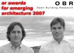 A OBR la menzione d'onore dell'Architectural Review Awards