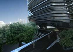 Zaha Hadid presenta la Innovation Tower