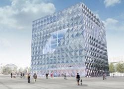 """""""Cube"""" è il nuovo HQ di Deutsche Bahn a Berlino"""