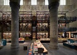 Maastricht trasforma una chiesa in libreria