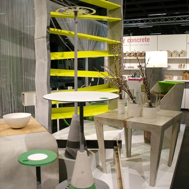 """""""simply concrete"""" – mobili in cemento"""