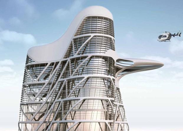 Abu Dhabi: lavori al via per la Strata Tower