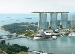 A Singapore un ponte-hotel panoramico in cima a tre torri
