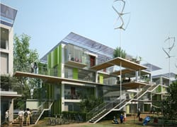 All'UIA 2008 di Torino la casa 'low cost' a zero emissioni