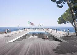 Work in progress per il Lido di Genova