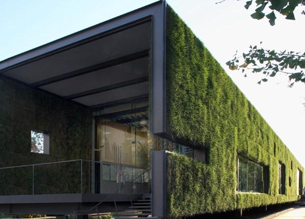 A Pechino uno showroom verde 'temporaneo'