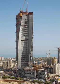 Al Hamra Tower di Kuwait-City realizzata con le casseforme PERI
