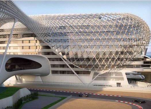 Abu Dhabi: quasi pronto lo Yas Hotel di Asymptote