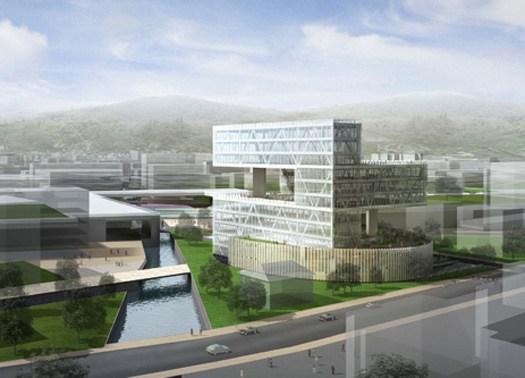 Arata Isozaki Associati per la nuova Provincia di Bergamo