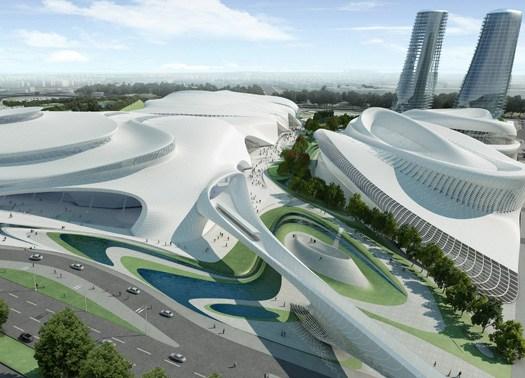 Zaha Hadid firma la nuova Cairo Expo City