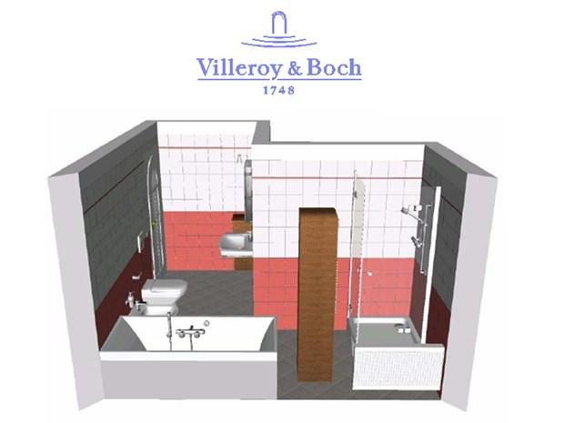 Progetta il tuo bagno online con villeroy & boch