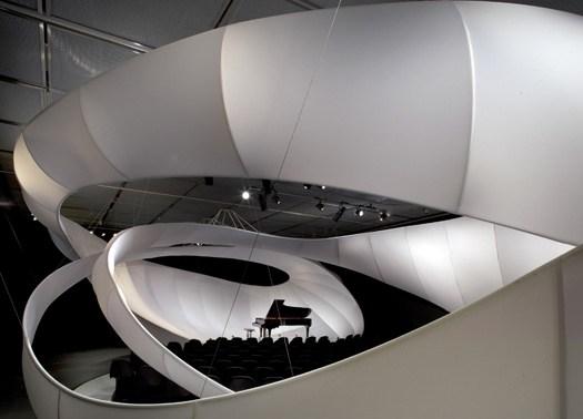 Zaha Hadid disegna un padiglione musicale per Manchester