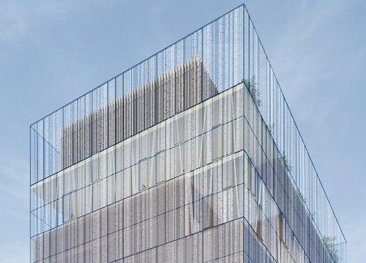 Un cubo in vetro per la biblioteca della Duisburg-Essen University