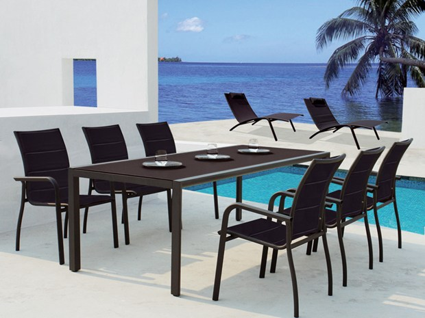 Venice - table, clack chair and sun lounger