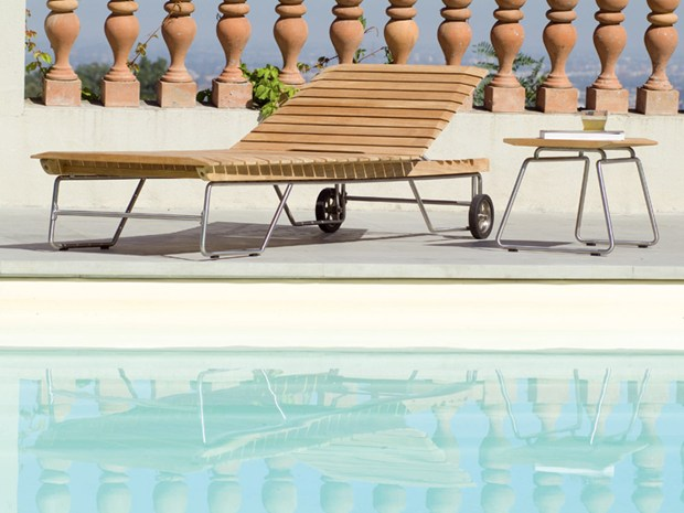 Opera - sun lounger and side table