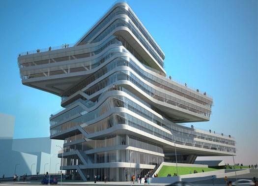 Barcellona: posata la prima pietra della Spiralling Tower