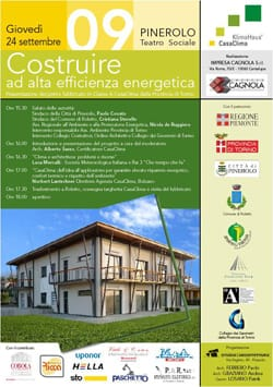 Torino inaugura il primo edificio CasaClima Classe A