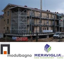 Abruzzo: Modulbagno e Meraviglia SpA consegnano le prime 44 unità abitative