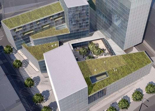 Vilnius: design scandinavo per il complesso Konstitucijos Avenue 21