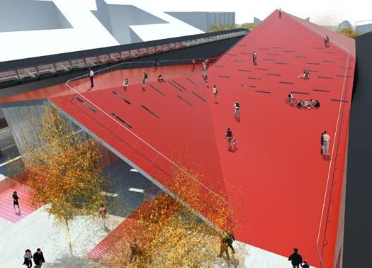 Aarhus: il nuovo Centro per le arti di 3XN