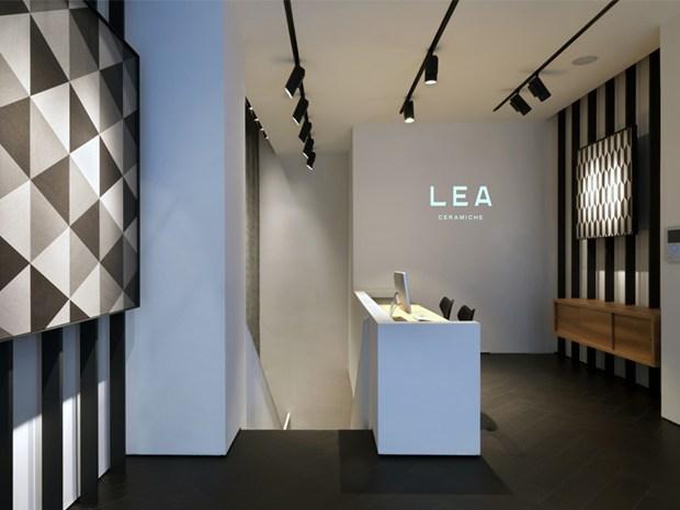 Apre a Milano il primo monomarca di LEA CERAMICHE