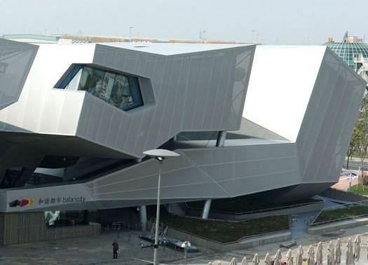 Balancity: il padiglione tedesco per l'Expo Shanghai 2010