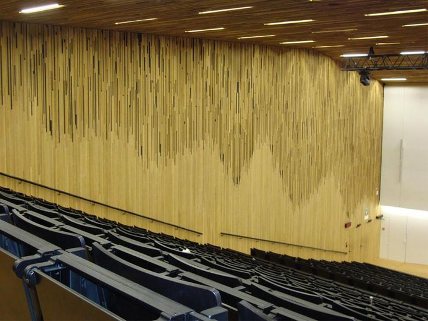 UFO: il nuovo Auditorium dell'Università di Gand in Belgio