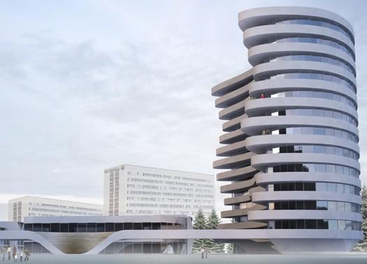 3XN progetta una torre residenziale per Stoccolma