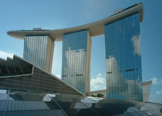 Apre a Singapore il resort Marina Bay Sands