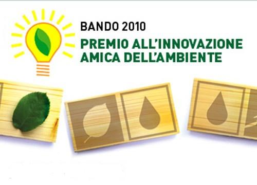 Al via il Premio Innovazione Amica dell'Ambiente