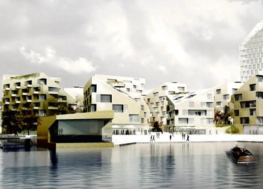 10 volumi scultorei per il porto industriale di Goteborg
