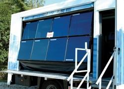 AGC Flat Glass Italia presenta Shuttle AGC, la facciata in movimento