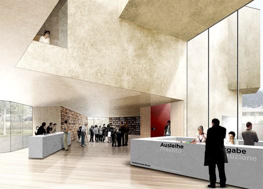 Biblioteca civica a Bressanone