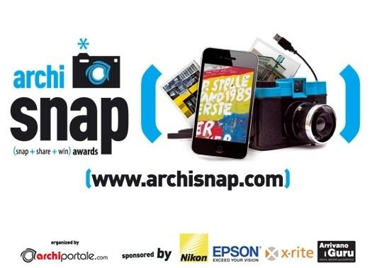 Archisnap Awards: 2738 iscritti al concorso fotografico