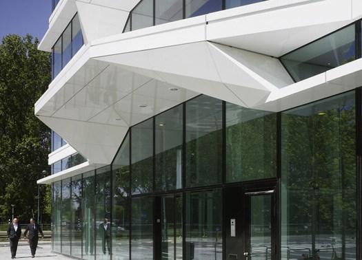 Una facciata effetto moiré per la UNStudio Tower di Amsterdam