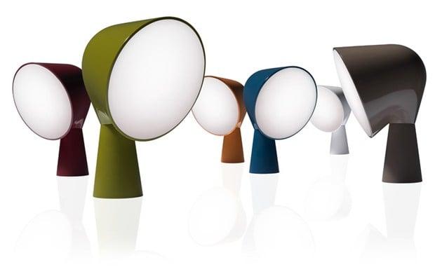 Binic, la lampada da tavolo di Foscarini
