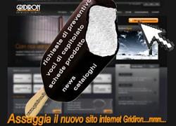 Online il nuovo sito internet Gridiron