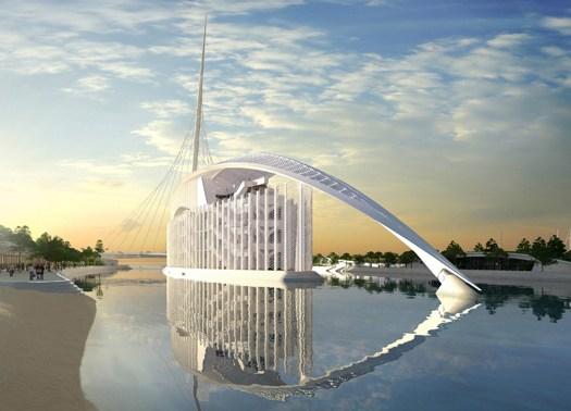 Avviato il cantiere Marina d'Arechi – Port Village di Calatrava
